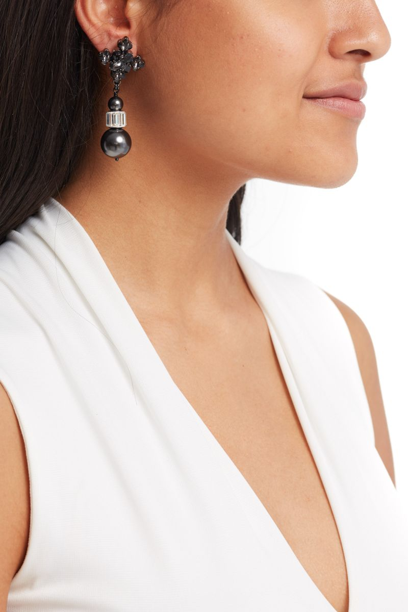 Crystal Night Blanche Earrings