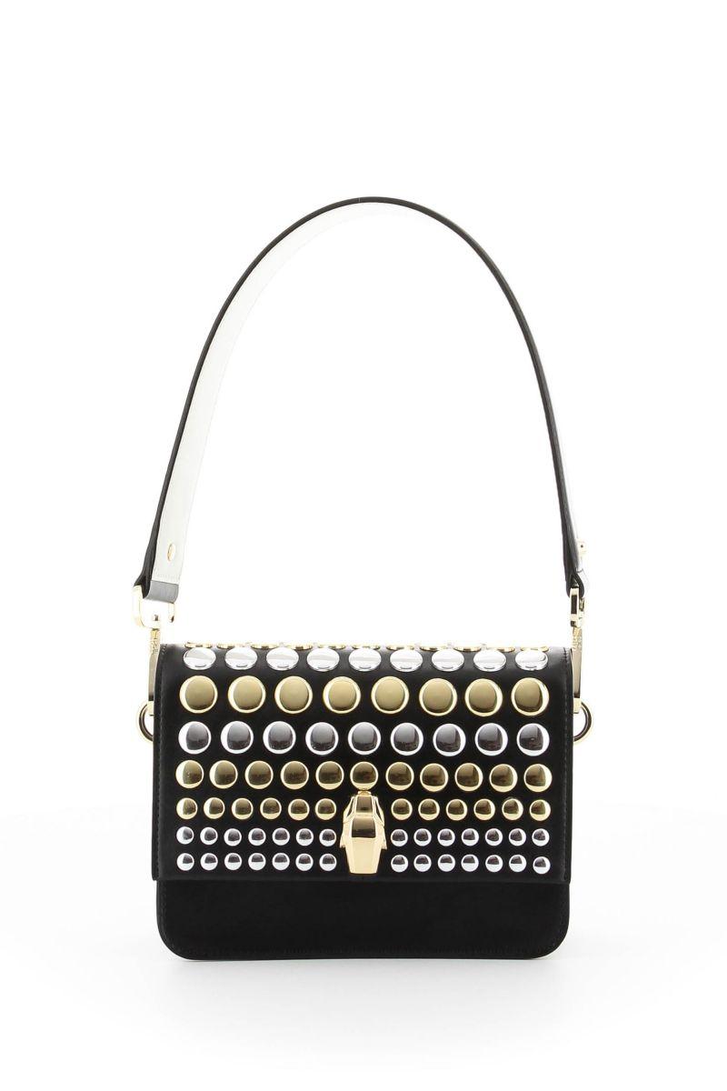Milano Studded Medium Shoulder Bag