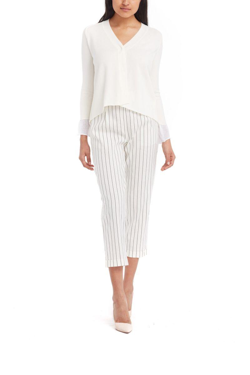 Striped Linen Pants