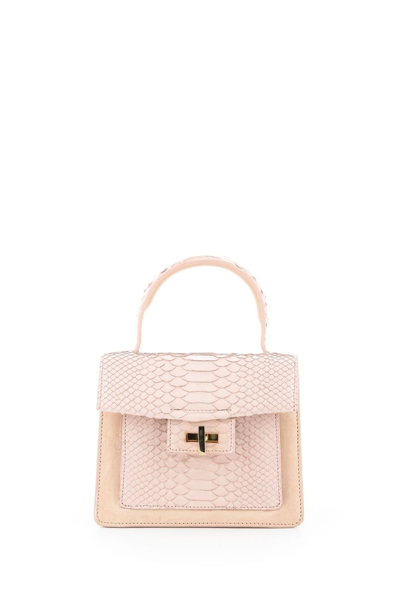 Niche Python and Leather Mini Bag