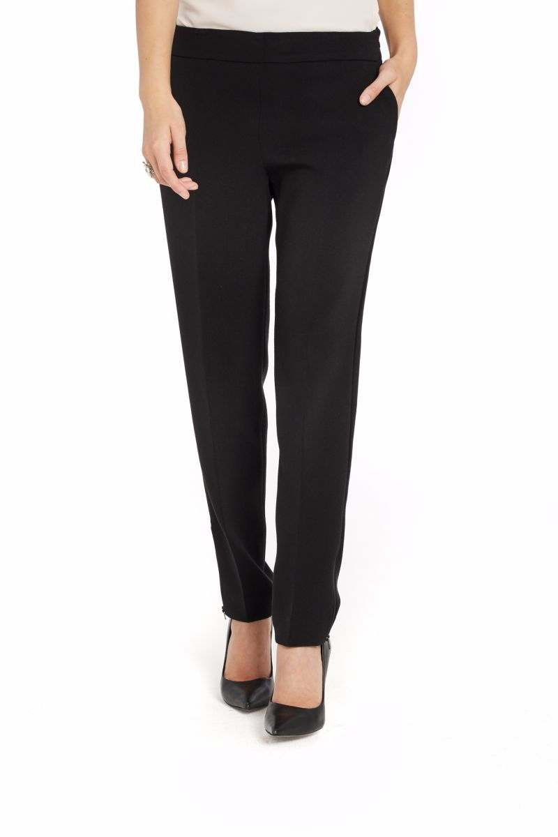 Tapered Pant with Ankle Zipper