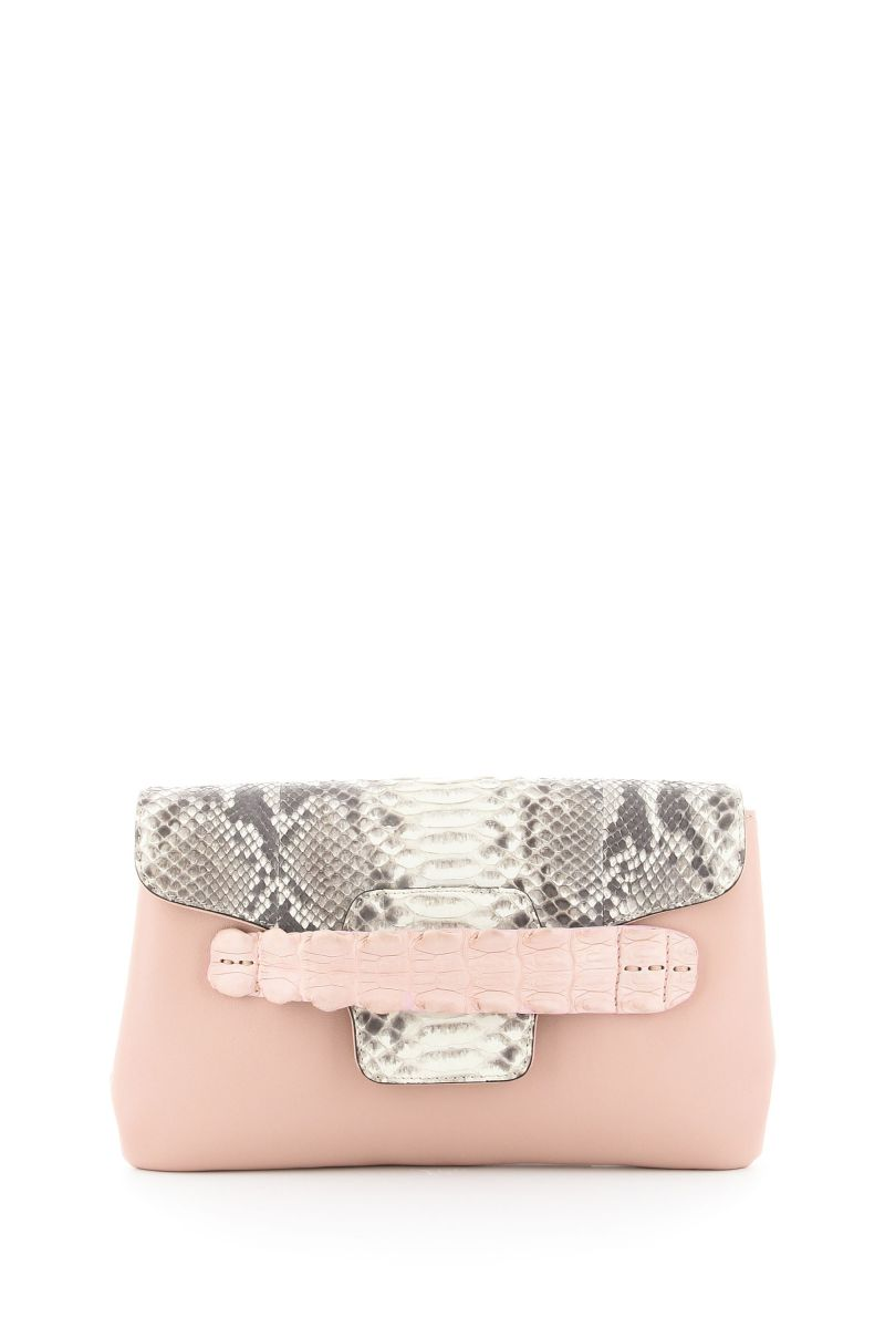 Santorini Blush Clutch