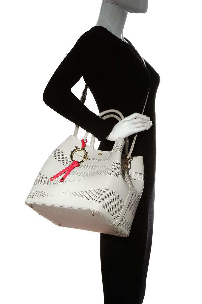 City Zebra Medium Shoulder Bag
