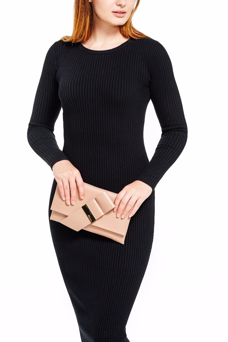 Colette Clutch Bag with chain strap