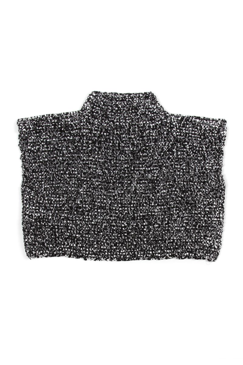 Cropped Short-Sleeve Knit Top