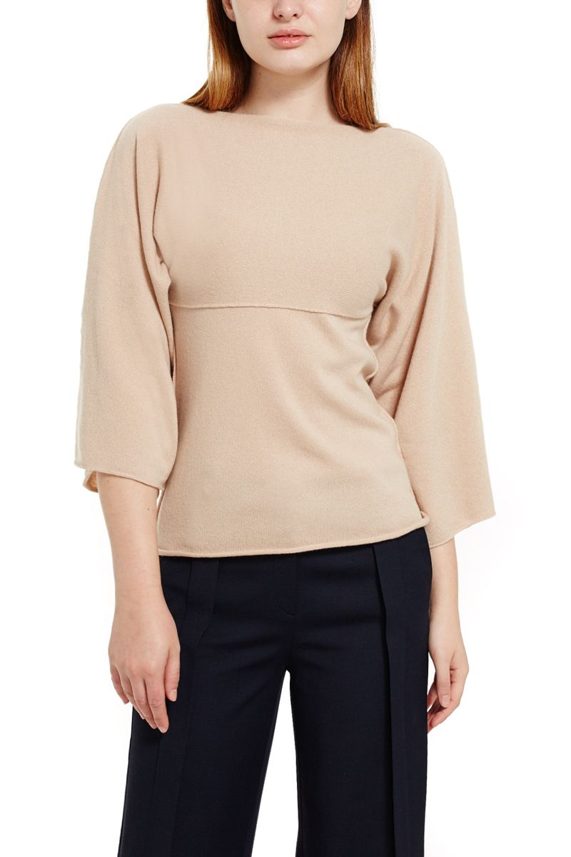 Cashmere Sweater Flared Sleeves