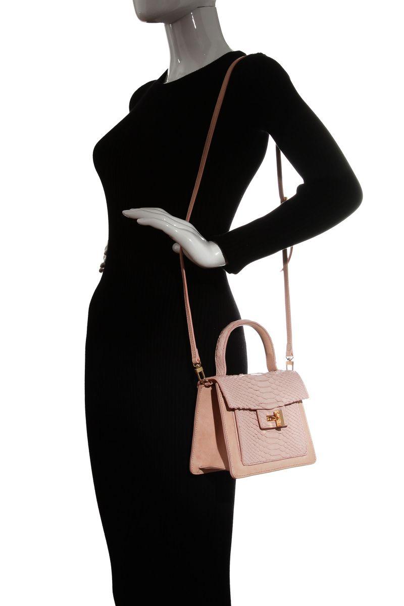 Niche Python and Leather Mini Bag