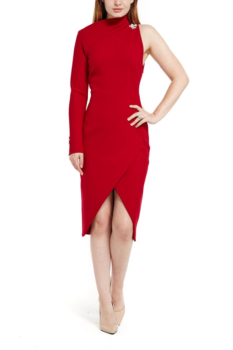 world-wide free shipping shop for authentic rich and magnificent Asymmetric cocktail dress